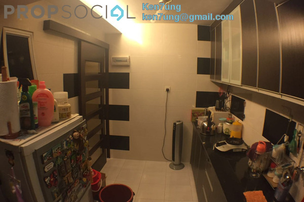 For Sale Apartment at Harmony View, Jelutong Freehold Semi Furnished 3R/2B 388k