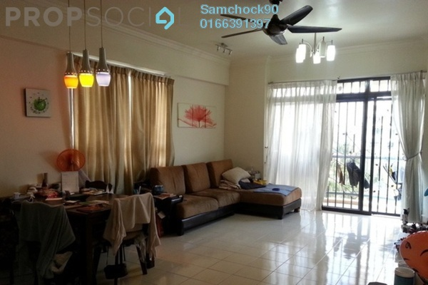 For Sale Condominium at Mutiara Oriental, Tropicana Freehold Fully Furnished 3R/2B 660k