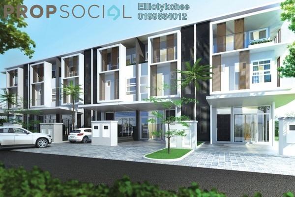 For Sale Superlink at Eden @ Jalil, Bandar Putra Permai Freehold Semi Furnished 5R/4B 1.31m
