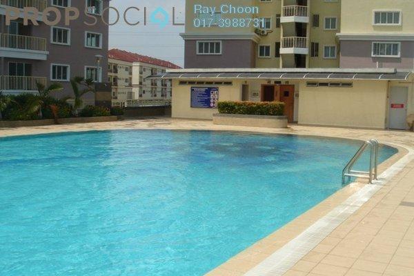 For Rent Condominium at Juta Mines, Seri Kembangan Leasehold Semi Furnished 3R/2B 1.3k