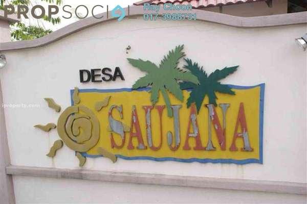 For Rent Apartment at Desa Saujana, Seri Kembangan Freehold Semi Furnished 3R/2B 1k