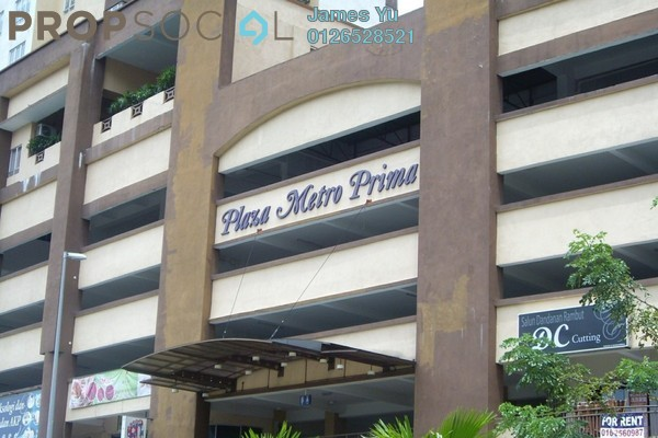 For Rent Condominium at Plaza Metro Prima, Kepong Leasehold Unfurnished 3R/2B 1.1k