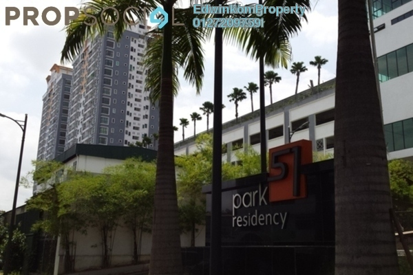 For Sale Condominium at Park 51 Residency, Petaling Jaya Leasehold Semi Furnished 2R/4B 575k