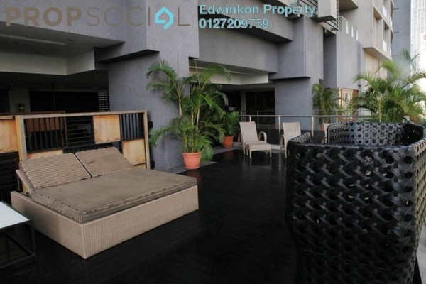 For Rent Condominium at myHabitat, KLCC Freehold Fully Furnished 2R/2B 3.6k
