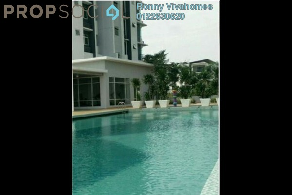 For Rent Condominium at La Thea Residences, 16 Sierra Leasehold Semi Furnished 0R/1B 1.8k