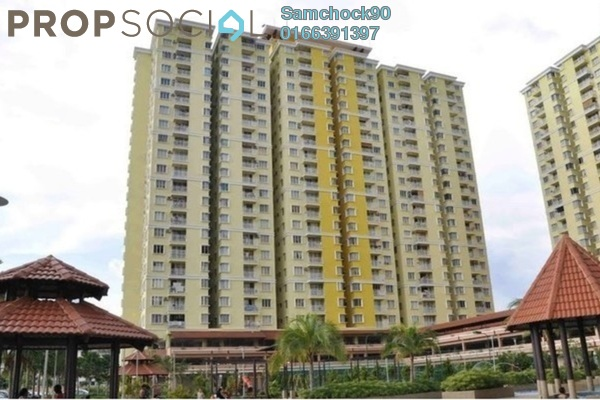 For Sale Condominium at Platinum Lake PV10, Setapak Leasehold Semi Furnished 3R/2B 480k