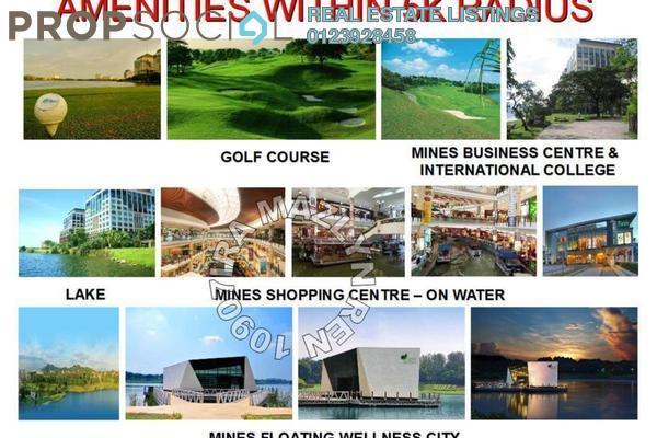 For Rent Condominium at Bluwater Estate, Seri Kembangan Leasehold Semi Furnished 6R/0B 13k