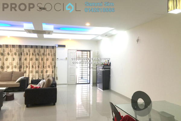 For Sale Terrace at Bandar Nusaputra, Puchong Leasehold Semi Furnished 4R/3B 658k