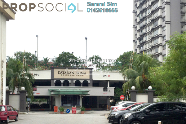 For Sale Condominium at Dataran Prima Condominium, Kelana Jaya Freehold Unfurnished 2R/2B 600k