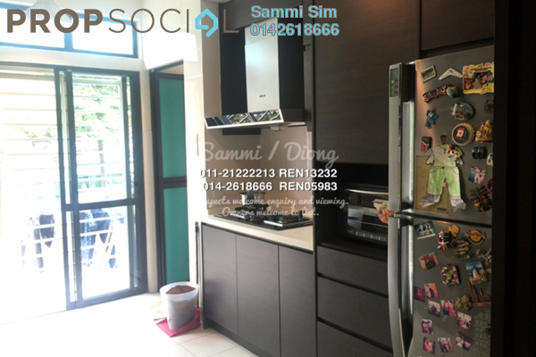 For Sale Townhouse at Park Villa, Bandar Bukit Puchong Freehold Semi Furnished 2R/2B 588k