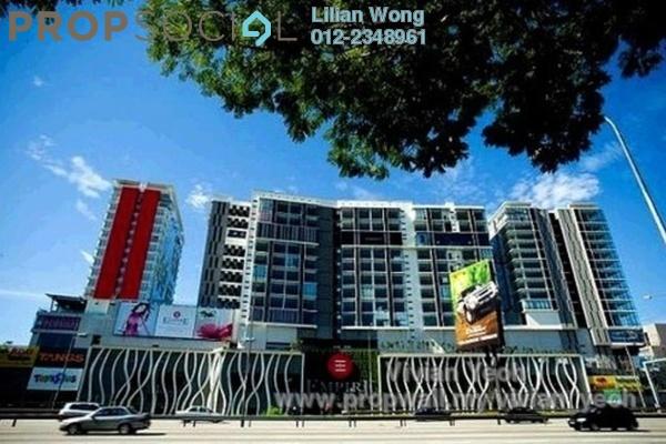 For Rent SoHo/Studio at Empire Subang, Subang Jaya Freehold Semi Furnished 1R/1B 2.4k
