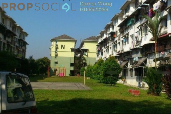 For Rent Apartment at Dahlia Apartment, Pandan Indah Leasehold Unfurnished 3R/2B 1k