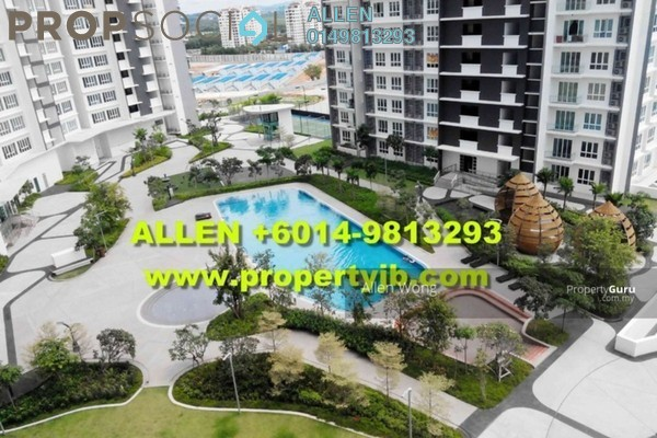 For Sale Serviced Residence at Tropez Residences, Danga Bay Freehold Fully Furnished 1R/1B 508k