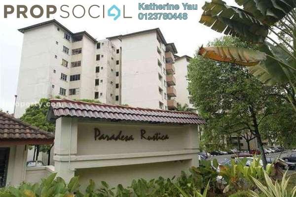 For Rent Apartment at Paradesa Rustica, Bandar Sri Damansara Freehold Fully Furnished 3R/2B 1.5k