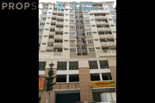 For Sale Apartment at Fortune Avenue, Kepong Leasehold Semi Furnished 3R/3B 710k