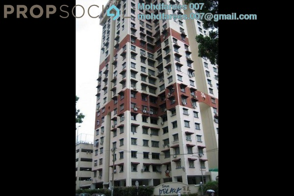 For Rent Condominium at Taman Pekaka, Sungai Dua Freehold Semi Furnished 3R/2B 1k