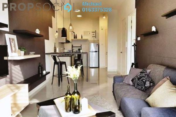 For Rent Serviced Residence at Desa Green Serviced Apartment, Taman Desa Freehold Fully Furnished 1R/1B 1.8k