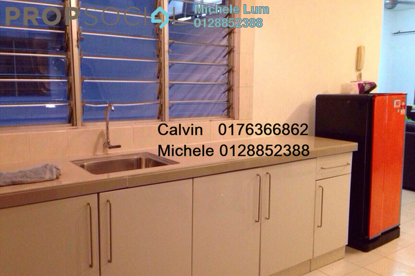 For Rent Serviced Residence at Casa Tiara, Subang Jaya Freehold Fully Furnished 1R/1B 1.7千