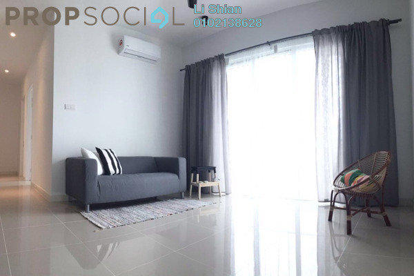 For Rent Condominium at Scenaria, Segambut Freehold Semi Furnished 3R/2B 2.3k