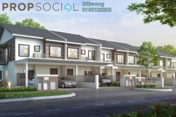 For Sale Terrace at Greenwoods @ Salak Perdana, Sepang Freehold Unfurnished 4R/4B 489k