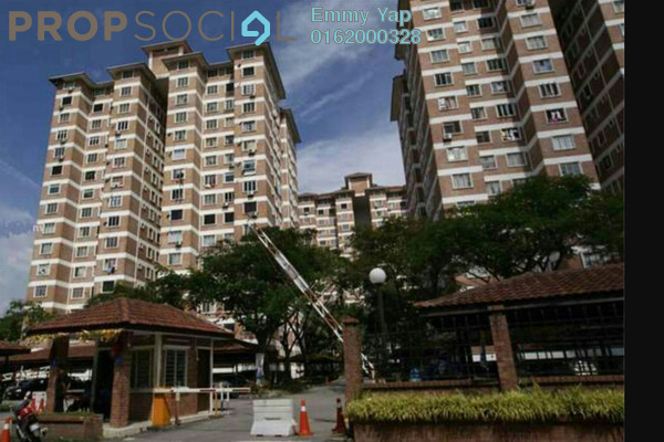 For Rent Condominium at Forest Green, Bandar Sungai Long Freehold Semi Furnished 3R/2B 1.2k