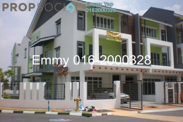 For Sale Terrace at Surian Tropika Homes, Bandar Sungai Long Freehold Unfurnished 6R/6B 1.2m