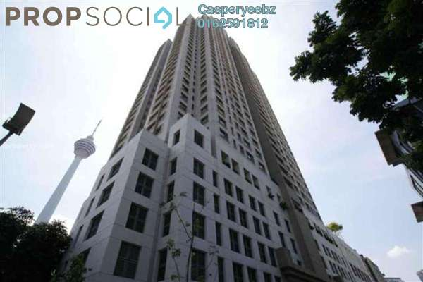 For Rent Condominium at The CapSquare Residences, Dang Wangi Freehold Fully Furnished 3R/2B 4.2k