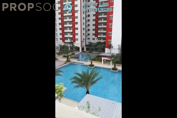 For Sale Condominium at Main Place Residence, UEP Subang Jaya Freehold Semi Furnished 2R/1B 458k