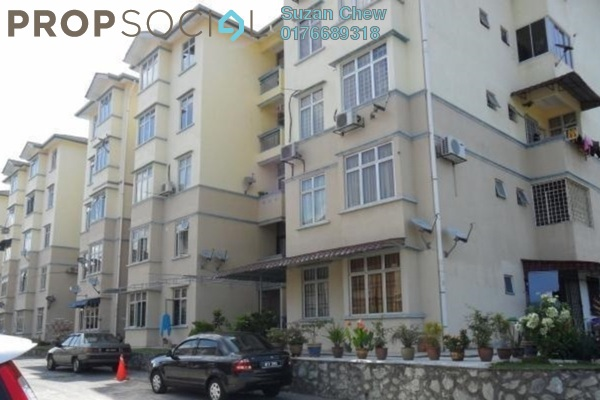 For Sale Apartment at Sri Kayangan Apartment, Ukay Leasehold Semi Furnished 3R/2B 320k