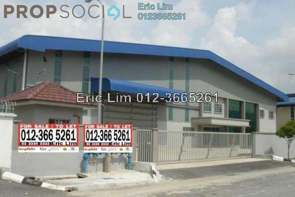 For Rent Factory at Taman Sungai Kapar Indah, Kapar Freehold Unfurnished 1R/3B 35k