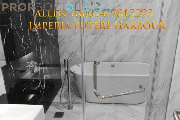 For Rent Condominium at Imperia, Puteri Harbour Freehold Semi Furnished 1R/1B 2.85k