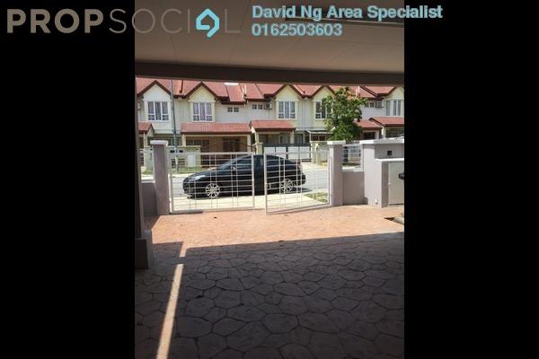 For Rent Terrace at Alam Nusantara, Setia Alam Freehold Unfurnished 4R/5B 1.2k