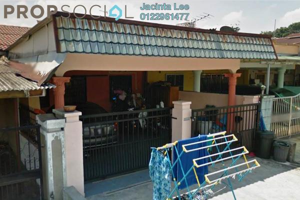 For Sale Terrace at Taman Desa Jaya, Kepong Leasehold Semi Furnished 3R/2B 405k