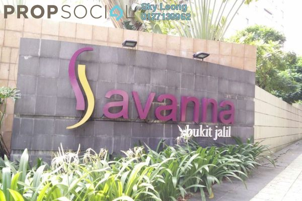 For Sale Condominium at Savanna 1, Bukit Jalil Freehold Semi Furnished 3R/2B 723k