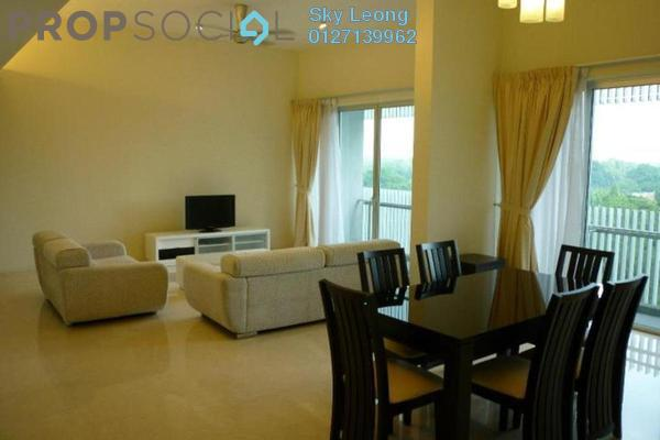 For Rent Condominium at Dua Residency, KLCC Freehold Semi Furnished 4R/4B 7k