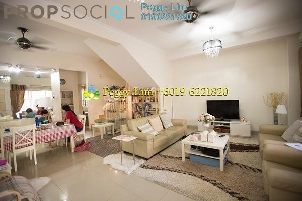 For Sale Terrace at Nilam Terraces, Bandar Bukit Puchong Freehold Semi Furnished 5R/4B 860k