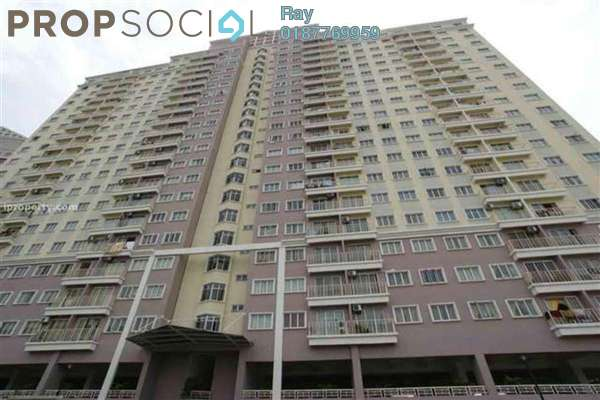 For Sale Condominium at Juta Mines, Seri Kembangan Leasehold Semi Furnished 3R/2B 400k