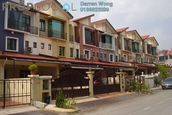 For Sale Terrace at Venture Heights, Balakong Freehold Fully Furnished 5R/4B 1.49m