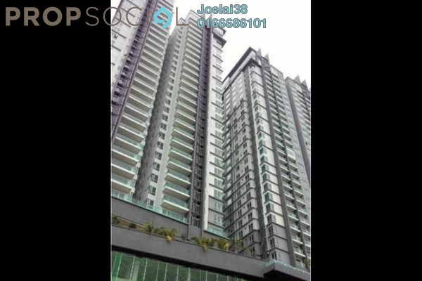 For Sale Condominium at Glomac Damansara, TTDI Freehold Semi Furnished 3R/2B 900k