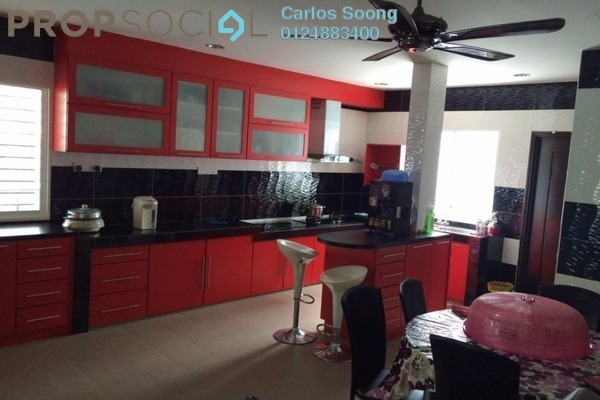 For Sale Terrace at Taman Bukit Hatamas, Cheras Leasehold Fully Furnished 4R/4B 1.25m