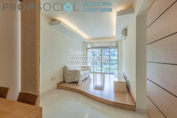 For Rent Condominium at Perdana View, Damansara Perdana Leasehold Fully Furnished 3R/2B 2.3k