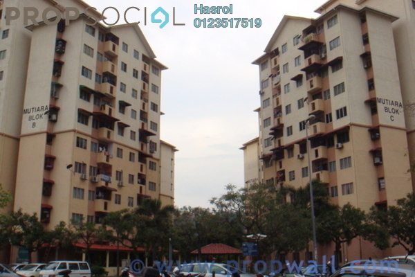 For Sale Apartment at Mutiara Apartment, Old Klang Road Leasehold Unfurnished 3R/2B 270k