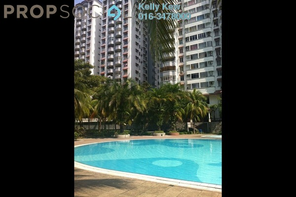 For Sale Condominium at Bukit OUG Condominium, Bukit Jalil Freehold Semi Furnished 3R/2B 425k