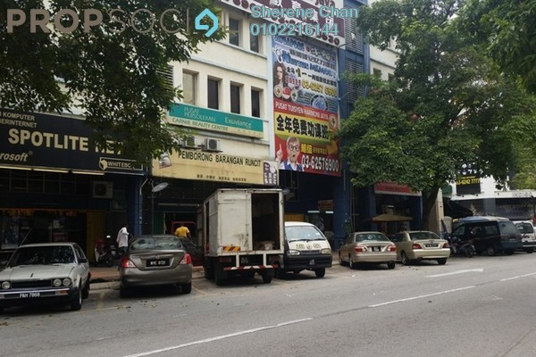 For Rent Shop at Metro Prima, Kepong Leasehold Semi Furnished 0R/1B 3k