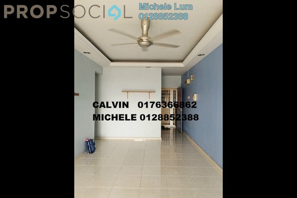For Rent Condominium at Ketumbar Hill, Cheras Freehold Semi Furnished 4R/2B 1.5千