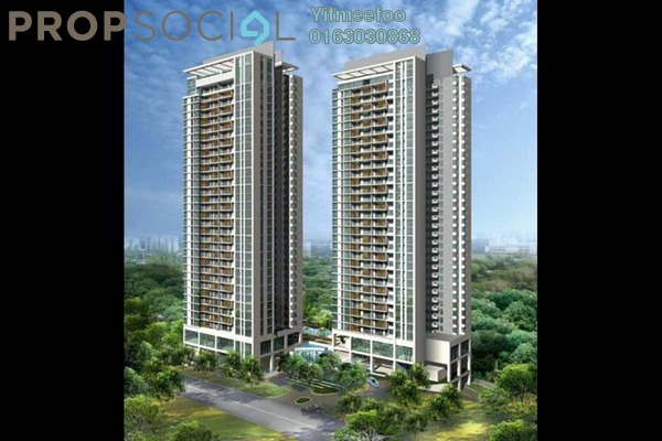 For Sale Condominium at Hampshire Residences, KLCC Freehold Unfurnished 5R/1B 2m