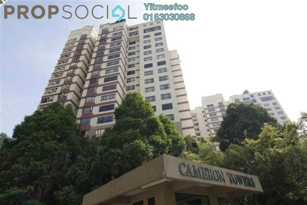 For Sale Condominium at Cameron Towers, Gasing Heights Freehold Semi Furnished 3R/1B 680k