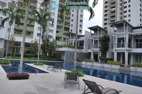 For Rent Condominium at Kiara Designer Suites, Mont Kiara Freehold Unfurnished 4R/1B 3.2k