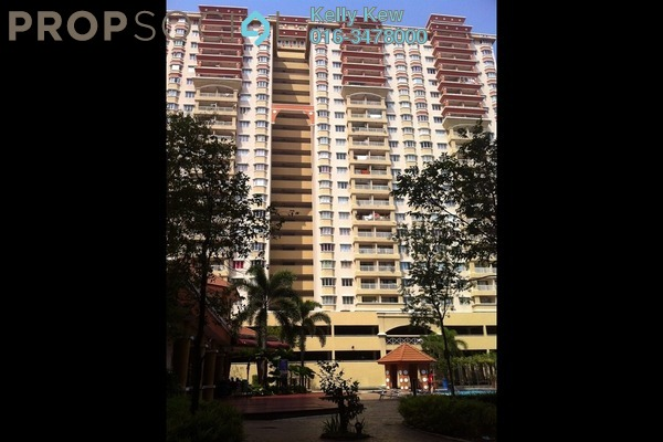 For Rent Condominium at Koi Tropika, Puchong Leasehold Fully Furnished 3R/2B 1.85k