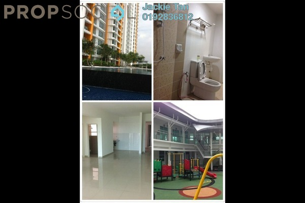 For Sale Apartment at The Zest, Bandar Kinrara Freehold Semi Furnished 3R/2B 590k